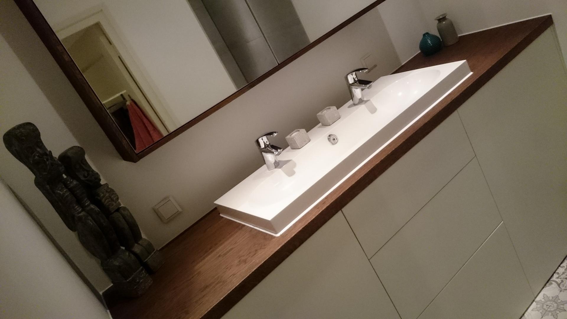 Badkamermeubel Op Maat : Badkamermeubel op maat u vinawood meubelmaker