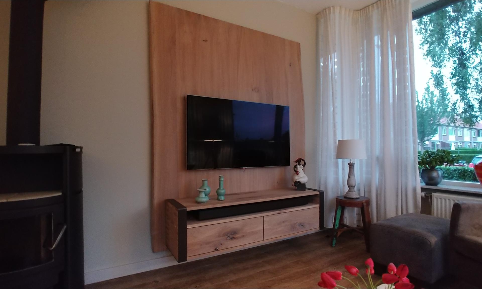 Ongekend Eiken TV meubel – VinaWood Meubelmaker KY-12